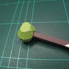 วิธีทำโมเดลกระดาษคุกกี้รสคุกกี้แอนด์ครีม  (Cookie Run Cream Cookie Papercraft Model) 017