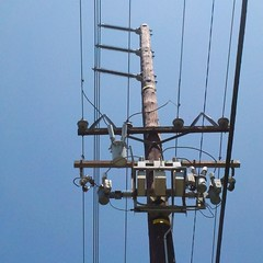 electrical supply, overhead power line, transmission tower, electricity, lighting,
