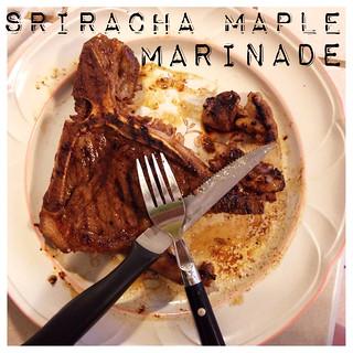 Sriracha Maple Marinade