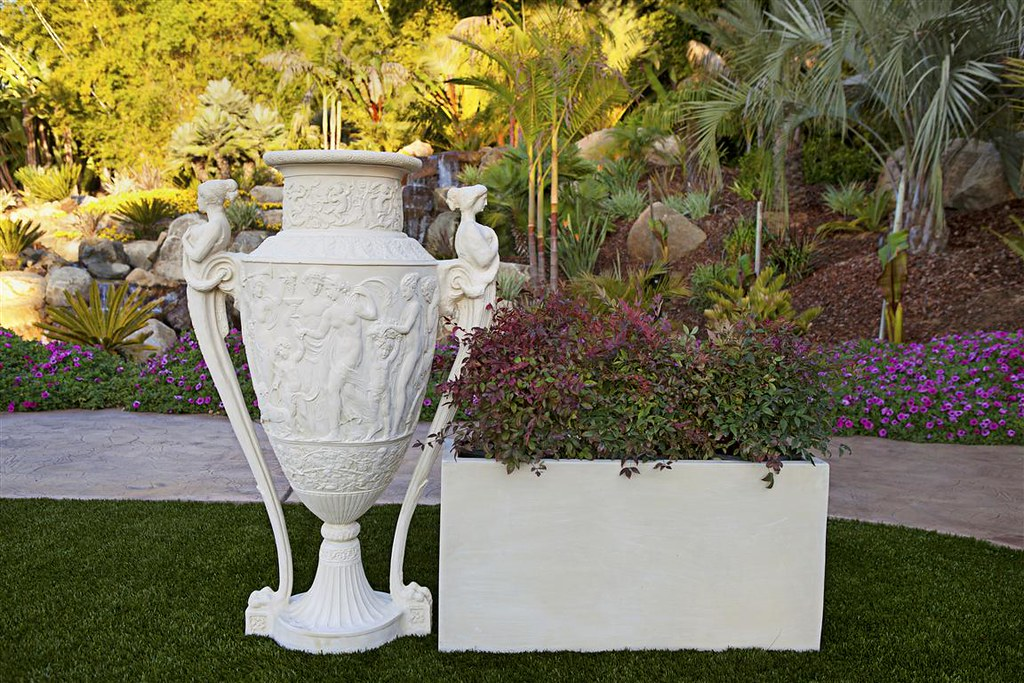 Greek Siren Urn & Modular Planter