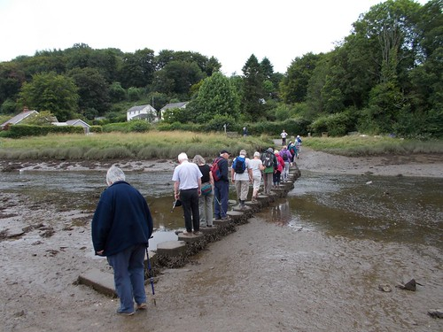 Lostwithiel U3A Walking Group at Lerryn