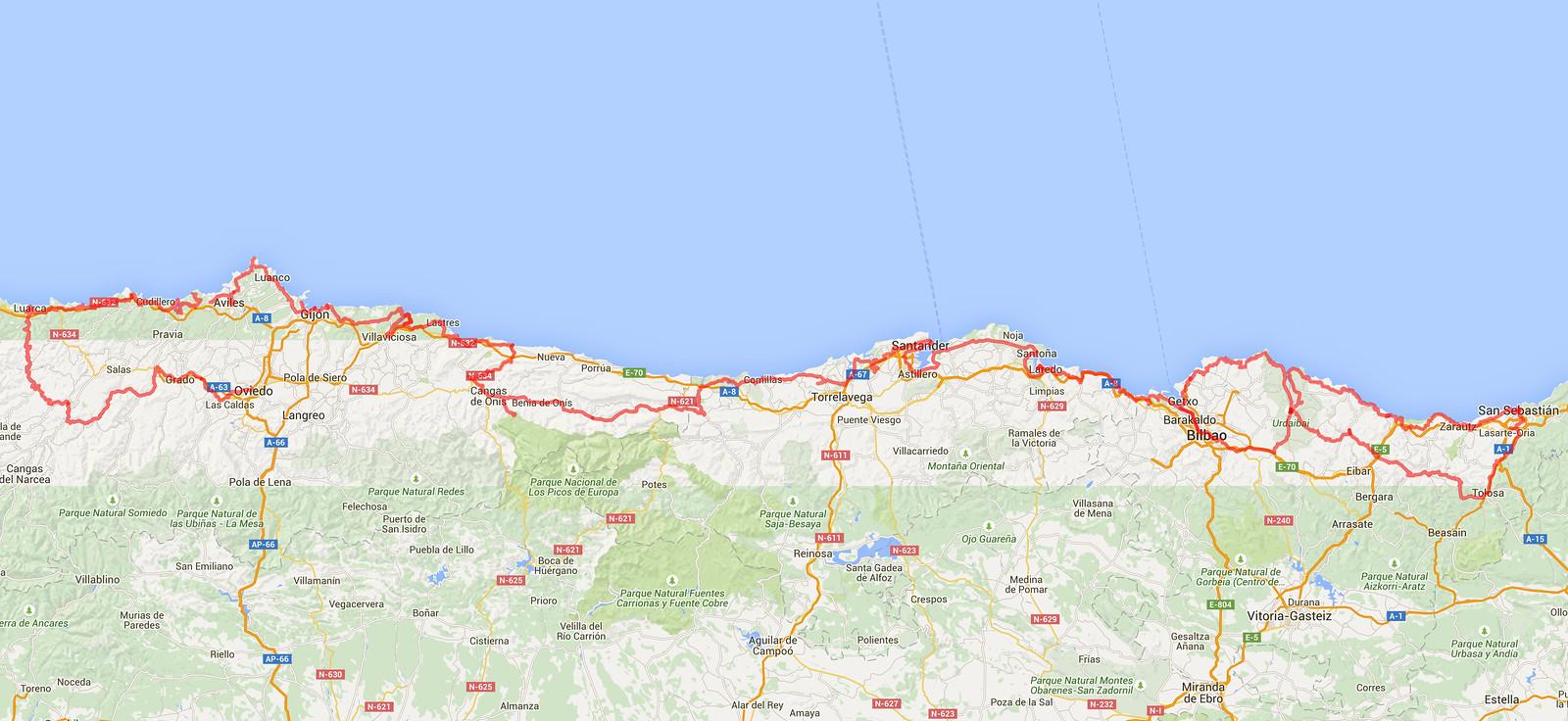 kart over nord spania Kart Over Nord Spania | Kart