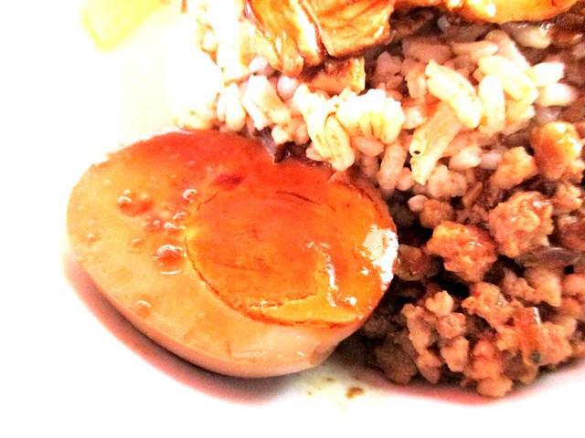 Ah Sian stewed egg