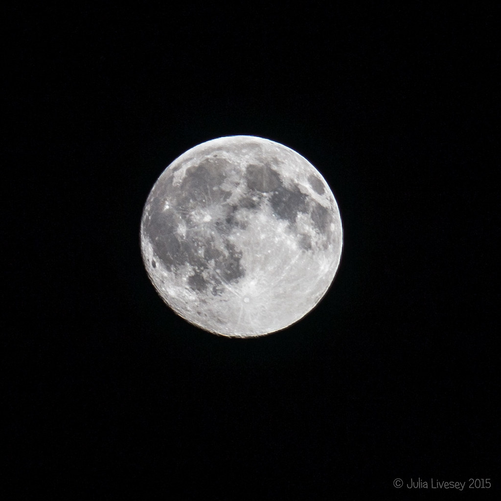 One day short of the Blue Moon