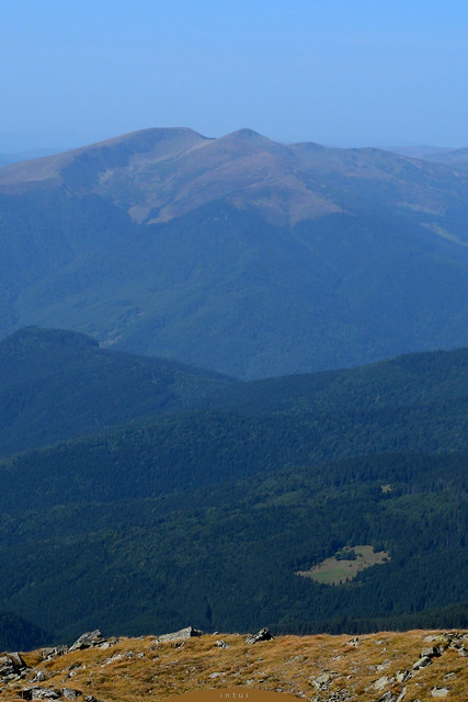 view from mount Petros, 2020 meter