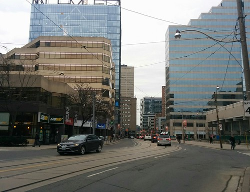 Dundas Street W at St. Patrick Street