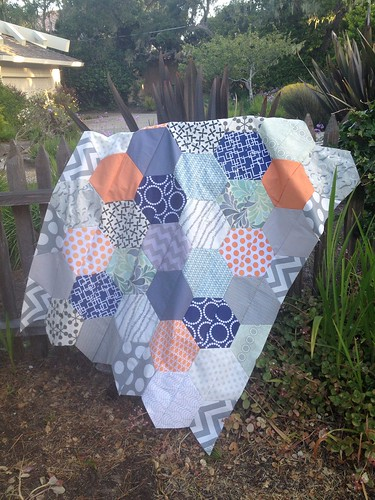 Baby quilt for KL