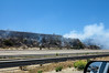 Fire, I-5 South, near San Onofre