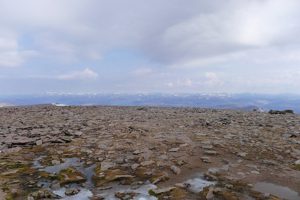 Deeside and Mounth from Macdui