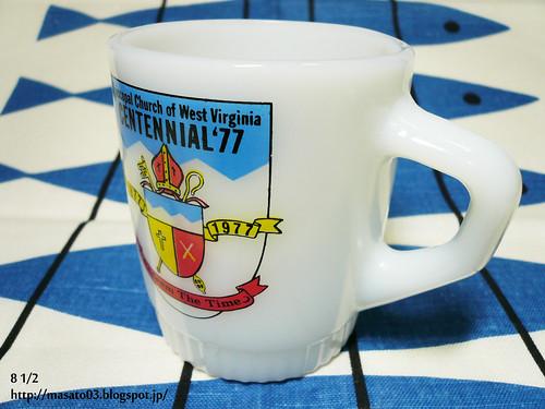 Fire King Episcopal Church of West Virginia coffee mug 2