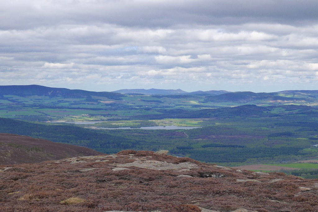 Loch Kinord and Bennachie