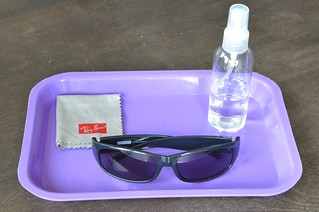 Polishing Sunglassses
