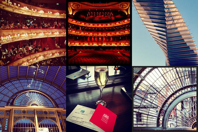 A selection of audience photos of the Royal Opera House