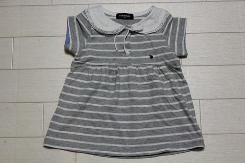 クレードスコープ_セーラー衿ボーダーTシャツ