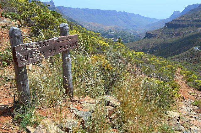 Walking Route, Fataga Gorge, Fataga, Gran Canaria