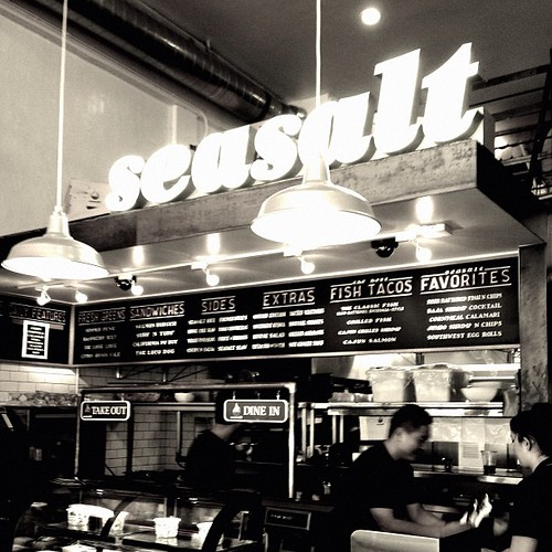 seasalt fish grill in Santa Monica #yesplease
