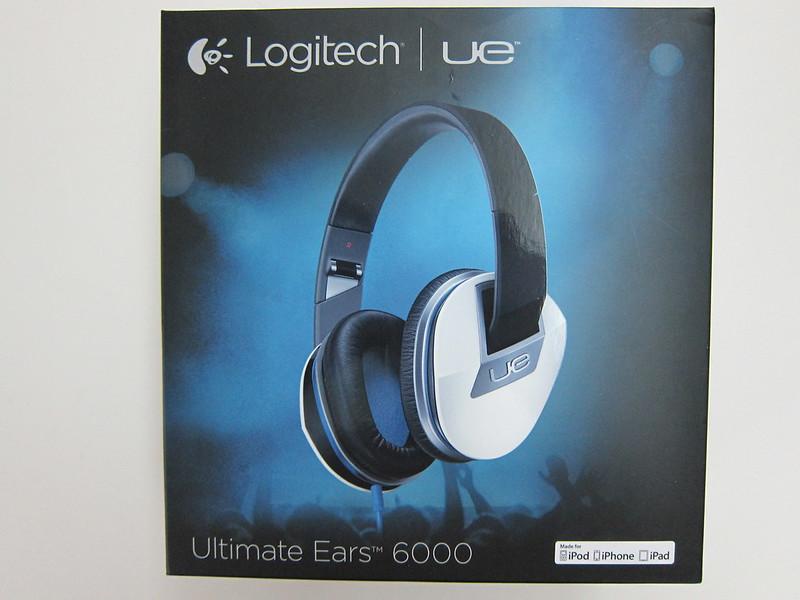 Logitech UE 6000 - Box front