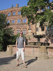 Day 4: Me in the castle, day trip to Heidelberg