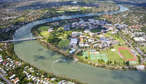Aerial Shot of the UQ St Lucia Campus 1