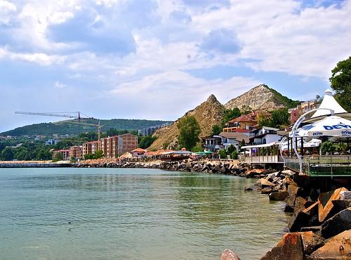 Balchik coast