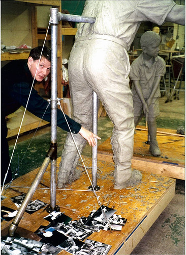 Jack Nicklaus tribute sculpture