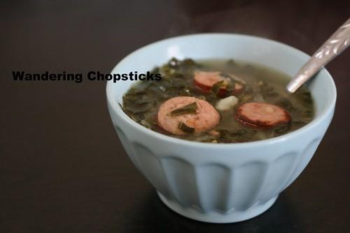 Caldo Verde (Portuguese Green Soup) 8