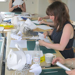 Paper Sculpture Workshop: 17th August, Wakefield. 9346979710_f305c0a8a0_q