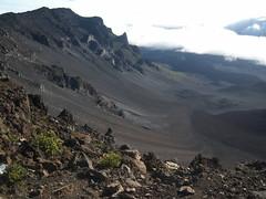 Haleakalā volcano valley