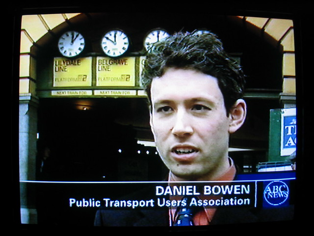 Daniel's first PTUA media, August 2003