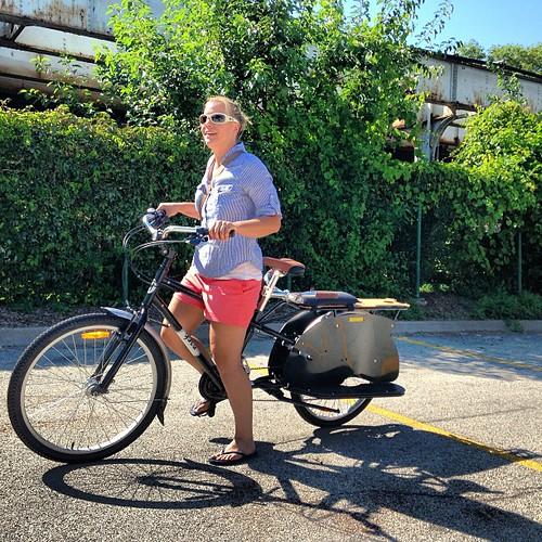 the Yuba bike - a station wagon family bike #newlove