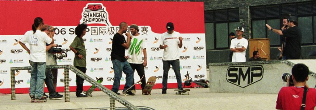 Bild von der Siegerehrung des Skate Contests