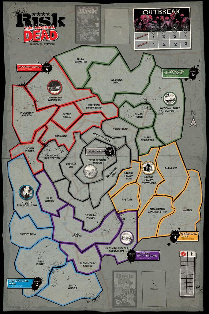 究極的友情破壞遊戲!【陰屍路】將推出「地產大亨」與「RISK」桌遊