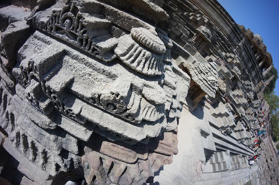 Искусстная резьба пагод-шикхар Храма Солнца (Сурьи), Модхера © Kartzon Dream - авторские путешествия, авторские туры в Индию, тревел фото, тревел видео, фототуры
