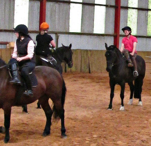 Side saddle....I did it...and loved it!