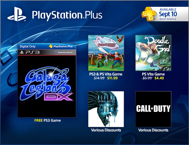 PlayStation Plus Update 9-10-2013