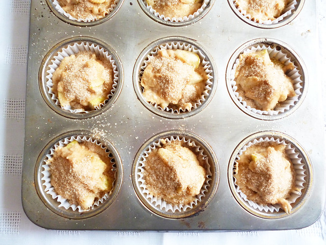 Raspberry Bloom: Spiced Pear Muffins
