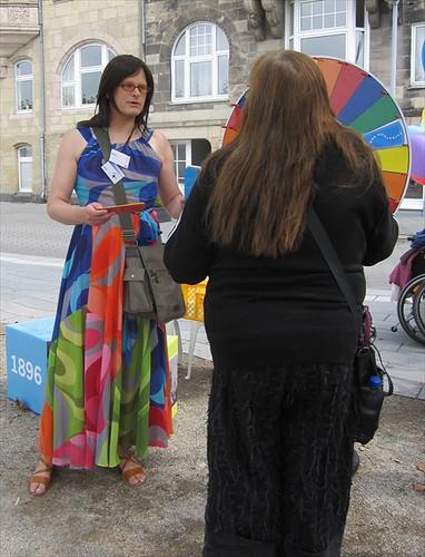 Gendertreff beim Bürgerfest zum Stadtjubiläum 725 Jahre Düsseldorf 001