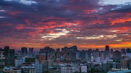 sunset clouds taiwan 台中市 taichungcity 夕彩 sonya850 sony2470za 天兔颱風 supertyphoonusagi