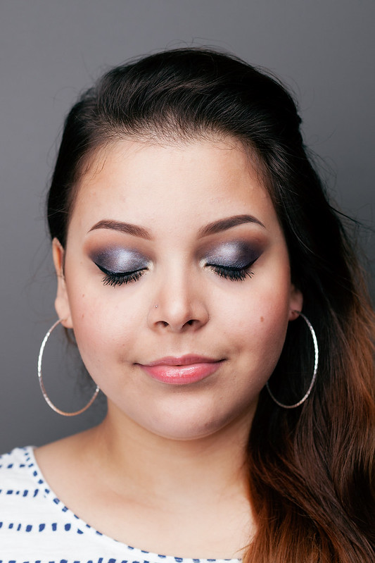 Sleek MakeUP Storm Palette Smokey Eye Tutorial