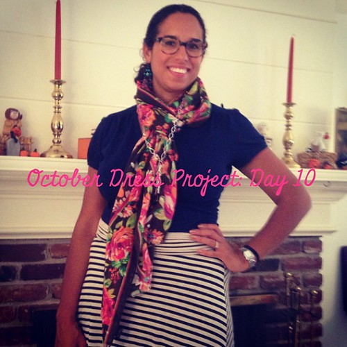 #ODP Day 10: Dress as top! #ABeautifulMess