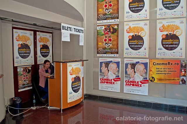 Comedy Cluj. Atmosfera unică a unei săli de cinema, capturată cu Nikon D90 10235814766_bdf080d818_z