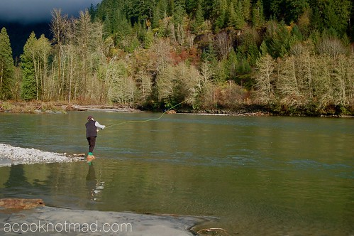 Fly fishing Parksville