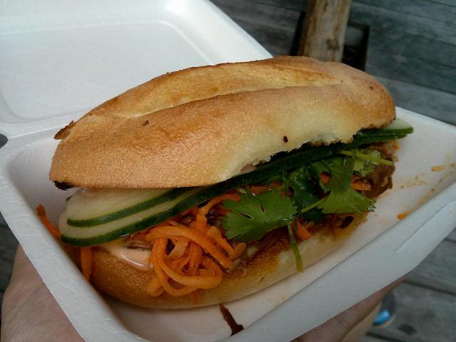 Pulled Pork Banh Mi | New York City, USA