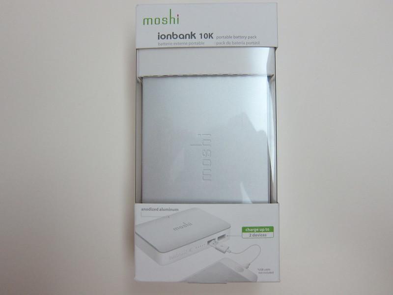 Moshi IonBank 10k - Box Front