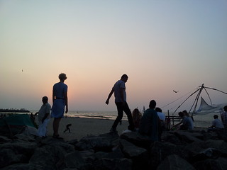 Image of Fort Cochin beach. india beach mobile kochi