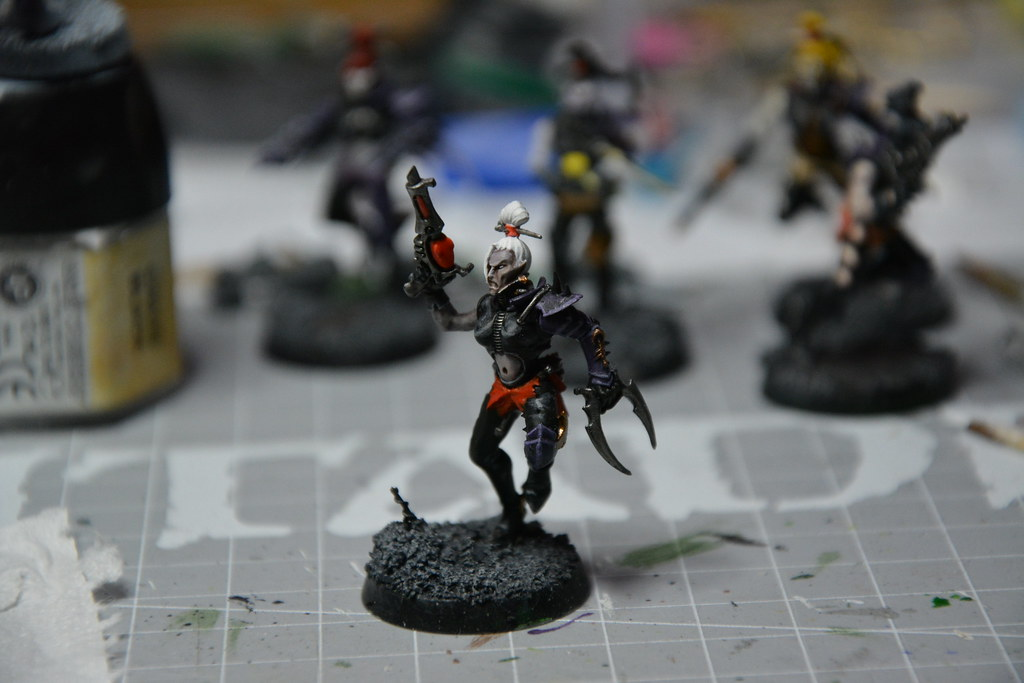 Cult of Bladed Violet & Kabal of Violet Storm - DE witches conversion! 10593978253_470615c4e2_b