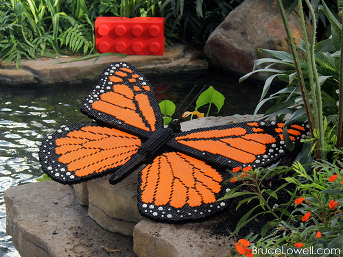 LEGO Monarch Butterfly