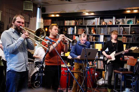 kannius_airwaves13 Iceland Airwaves13, musician, men, KEX Hostel, Reykjavik, iceland
