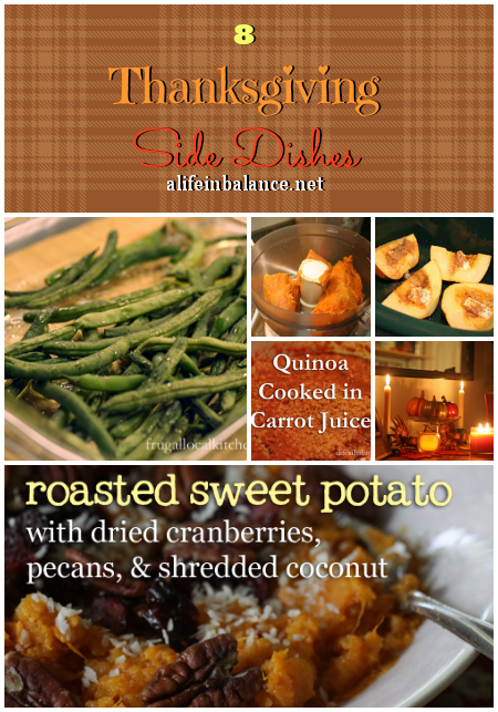 8 Thanksgiving Side Dishes