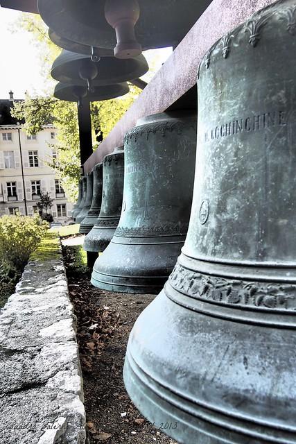 Le campane al Château des Ducs de Savoie- Chambery